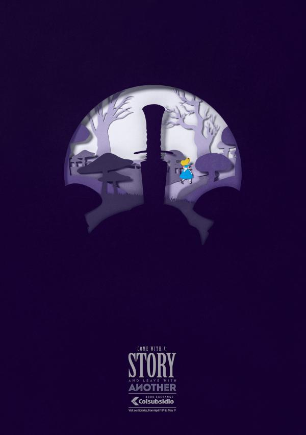 "Colsubsidio Libraries: ""Alice in Wonderland and The Sword in the Stone"""