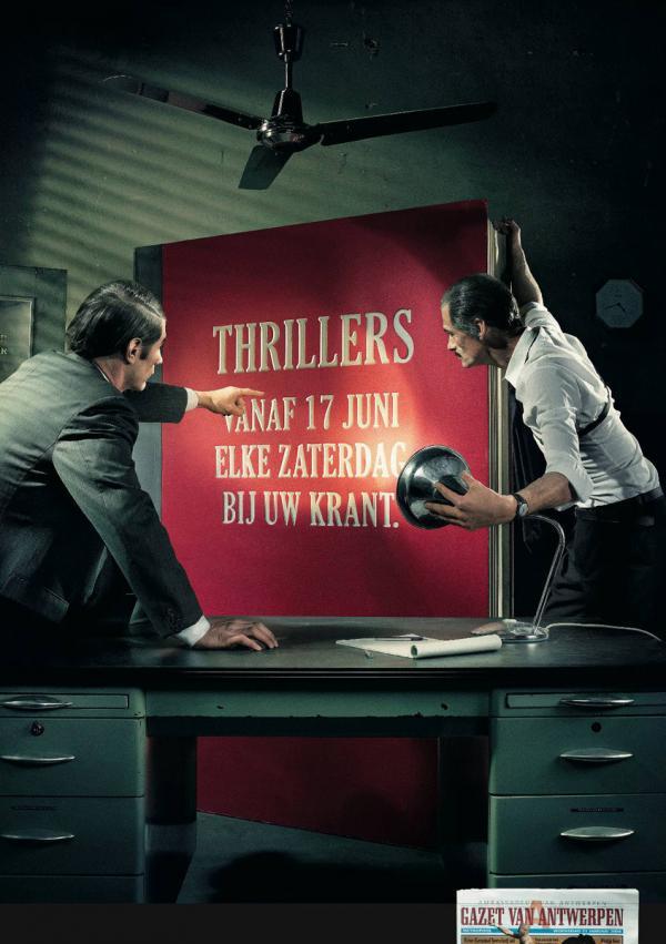 Gazet van Antwerpen: Thrillers