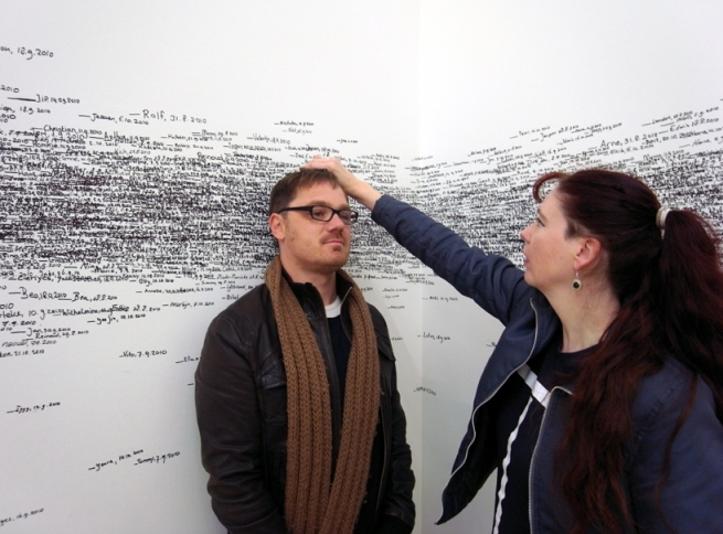 Roman Ondak, Measuring the Universe image © designboom