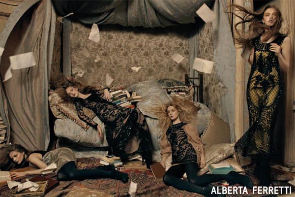 ALBERTA FERRETTI FALL 2009 BY STEVEN MEISEL