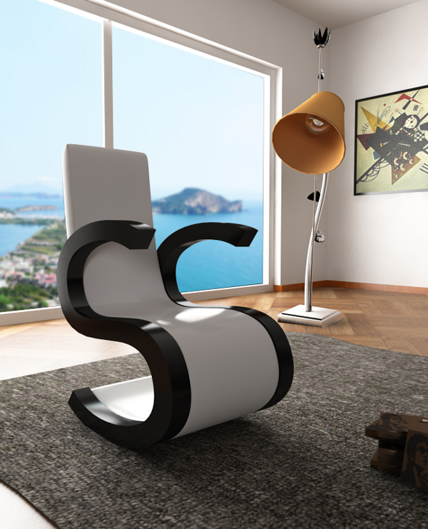 s Din chair by Claudio Scotto
